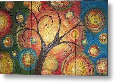 Tree Of Life  Metal Print by Ema Dolinar Lovsin