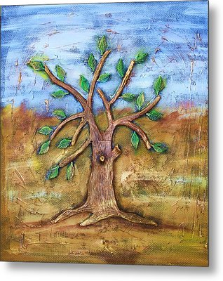Tree Of Life Metal Print by Junior Polo