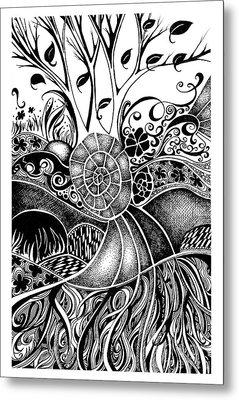 Tree Series 44 Metal Print
