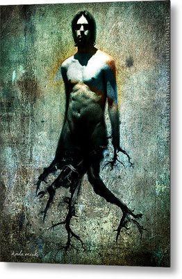 Tree Walker Metal Print