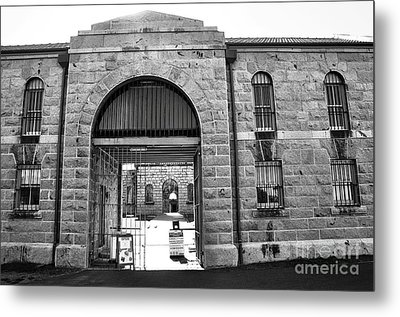 Trial Bay Jail Metal Print by Kaye Menner