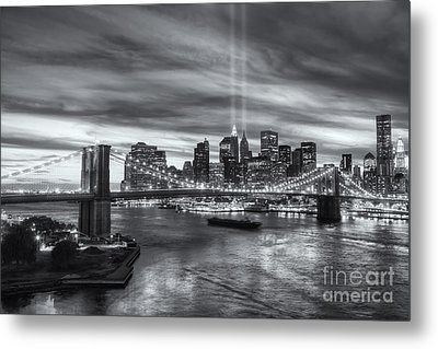 Tribute In Light V Metal Print by Clarence Holmes