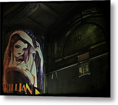 Trillian - Manga Store In Budapest Metal Print by Marianna Mills