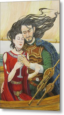 Tristan And Isolde Metal Print by Judy Riggenbach
