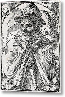 Tristao Da Cunha, Portuguese Explorer Metal Print by Middle Temple Library