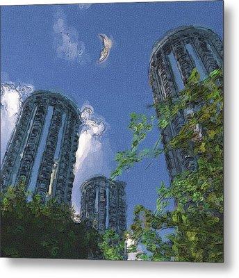 Triton Towers Metal Print by Richard Rizzo