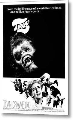 Trog, Joe Cornelius, Joan Crawford, 1970 Metal Print by Everett