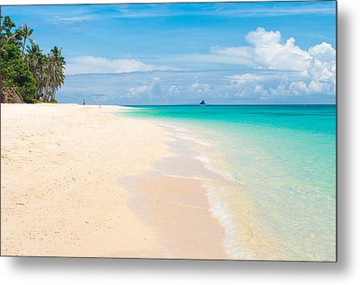 Metal Print featuring the photograph Tropical Beach by Hans Engbers