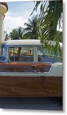 Tropical Chevy Metal Print by Cheri Randolph