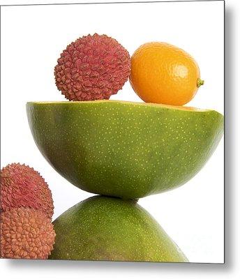 Tropical Fruits Metal Print by Bernard Jaubert