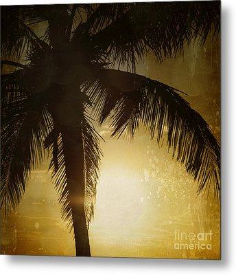 Tropical Paradise Metal Print by Sharon Mau