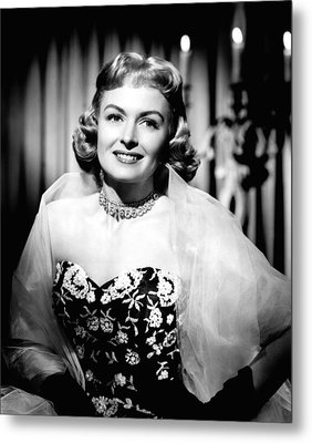 Trouble Along The Way, Donna Reed, 1953 Metal Print by Everett