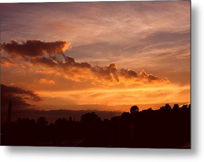 Trowbridge Sunset Metal Print