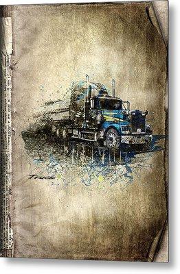 Truck Metal Print by Svetlana Sewell