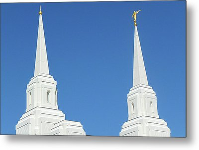 Trumpeting The Arrival Of The Lord Metal Print by Gary Baird