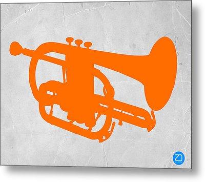 Tuba  Metal Print by Naxart Studio