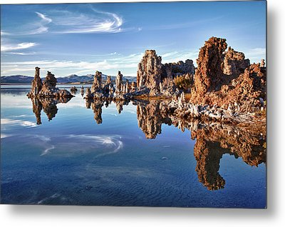 Tufas At Mono Lake Metal Print by Mimi Ditchie Photography