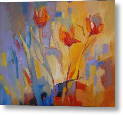 Tulip Song Metal Print by Marty Husted