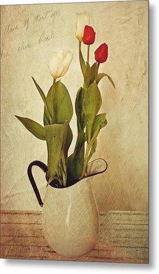 Tulips Metal Print by Kathy Jennings