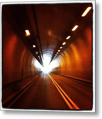 Tunnel In West Virginia Metal Print