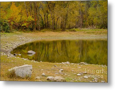 Tunnel Pond Metal Print by Idaho Scenic Images Linda Lantzy