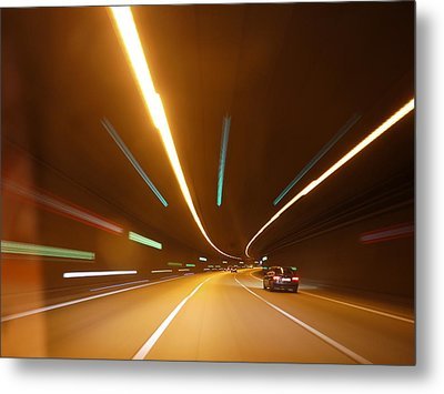 Tunnel Metal Print by Rolfo