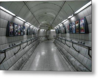 Tunnel Metal Print by Svetlana Sewell