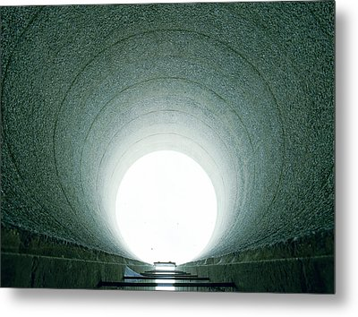 Tunnel Vision Metal Print by Jan W Faul