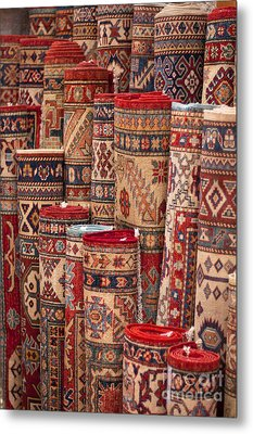 Turkish Carpets Metal Print