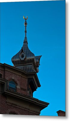 Metal Print featuring the photograph Turret At Tampa Bay Hotel by Ed Gleichman