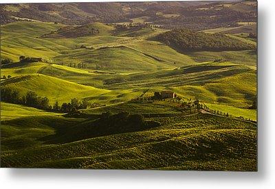 Tuscan Hills Metal Print by Andrew Soundarajan