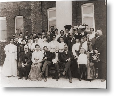 Tuskegee Institute Faculty Metal Print by Everett