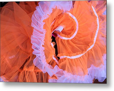 Tutu Swirls Metal Print by Denice Breaux