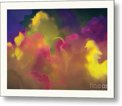Metal Print featuring the digital art Twenty Clouds by David Klaboe