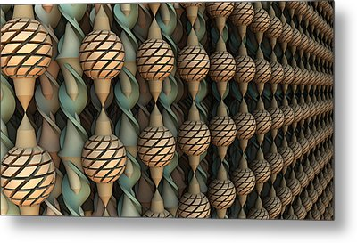 Twice Twisted Metal Print