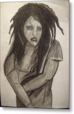 Twiggy Metal Print by Brittney Wallace