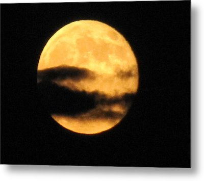 Metal Print featuring the photograph Twilight Moon by Shawn Hughes