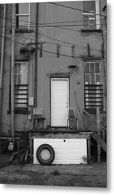 Two Doors Metal Print