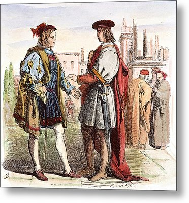 Two Gentlemen Of Verona Metal Print by Granger