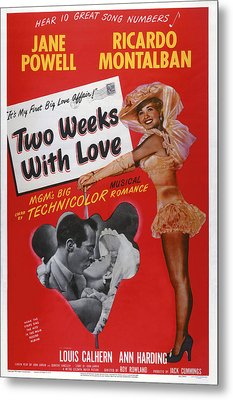 Two Weeks With Love, Insert Ricardo Metal Print by Everett
