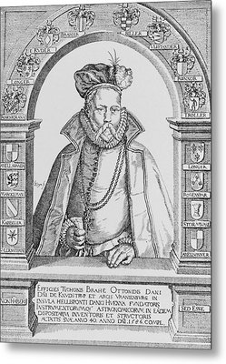 Tycho Brahe Metal Print by Science, Industry & Business Librarynew York Public Library
