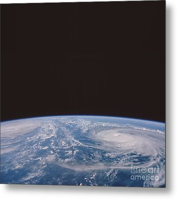 Typhoons Odessa And Pat, Seen Metal Print by NASA / Science Source