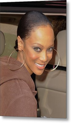 Tyra Banks, Leaves The Wendy Williams Metal Print by Everett