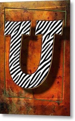 U Metal Print by Mauro Celotti