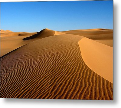 Ubari Sand Sea, Libyan Sahara Metal Print by Joe & Clair Carnegie / Libyan Soup