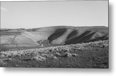 Uffington White Horse Metal Print by Michael Standen Smith