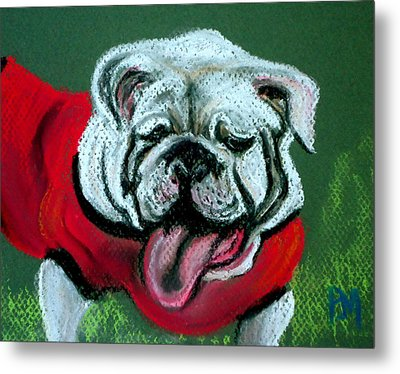 UGA Metal Print by Pete Maier