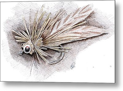 Ugly Bug Metal Print by H C Denney