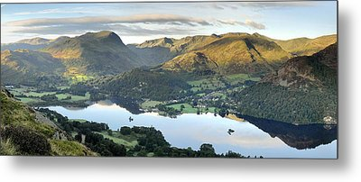 Ullswater From Place Fell Metal Print by Stewart Smith
