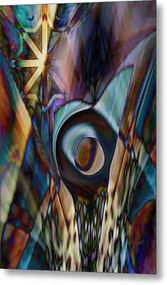 Metal Print featuring the digital art Ultimately None by Steve Sperry